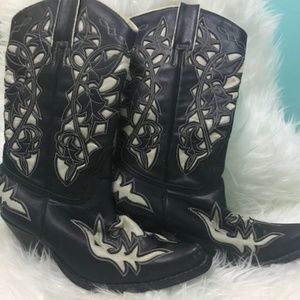 Jeffery Campbell Frontier Cowboy boot
